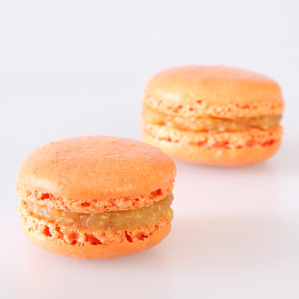 Orange-Armagnac (40% Vol.) Macarons