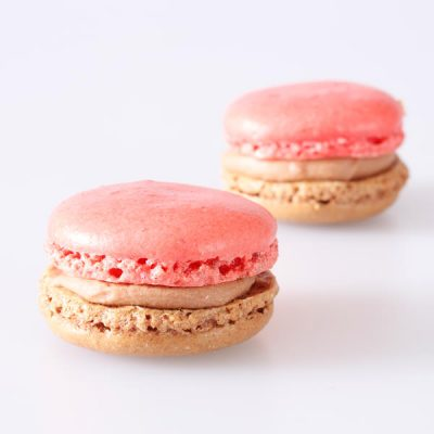 Vollmilch-Maracuja Macarons